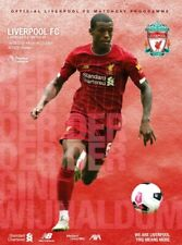 Liverpool v Newcastle 2019-20 Official Programme brand new mint condition LFC