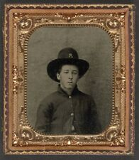 American Civil War Union Soldier North 1861 USA 6x5 Inch Reprint Photo