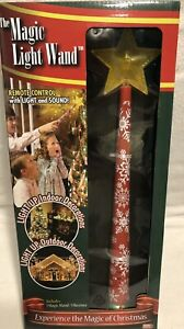 Christmas MAGIC LIGHT Fairy Wand Snowflakes Remote Control & Receiver