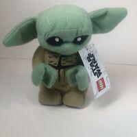 Lego Star Wars Galaxy Edge Disney Baby Yoda Plush New Rare HTF Mandalorian Mini