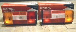 Lada Niva 2121 2106 Taillight Complete Kit OEM 2106-3716011 + 2106-3716010