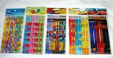 60 pcs Disney & Cartoon Character Licensed Pencil Wholesale School Party Supply