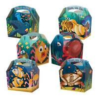 10 Under The Sea Ocean Fish Meal Boxes ~ Birthday Party Food Bag ~ Picnic Box