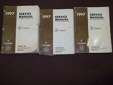 1997 GM Cadillac Catera Service Shop Repair Workshop Manual SET OEM FACTORY