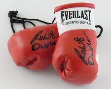 Autografiada Mini Guantes De Boxeo Roberto Duran