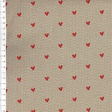 "(€ 16,00/m) patchwork de tela - ""sweetness"" - 25 x 110cm"