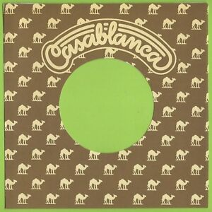 CASABLANCA (light brown) - REPRODUCTION RECORD COMPANY SLEEVES - (pack of 10)