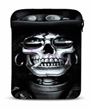 "9.7"" Skull Fashion Sleeve Case Bag Cover For Apple iPad 1/2/3 Aspire Switch 10"