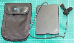 IBM External 3.5in USB disk drive with pouch