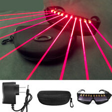 Red Light Laser LED DJ Glasses Nightclub Party Stage Dancer Eyeglass Halloween