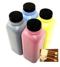 4 x Toner Refill for Ricoh Aficio MP C3300, MP C2800 (URGENT SIZE) + 4 Chip