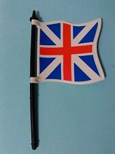 PLAYMOBIL BANDERA INGLESA INGLES INGLESES SOLDADOS BANDERAS ENGLISH FLAG FLAGS