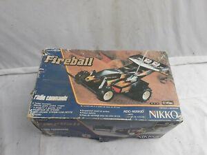 Nikko FIREBALL Radio commandée 1/16 avec boîte et télécommande