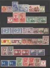 Bechuanaland - 104no. different stamps (CV $212)