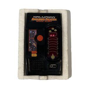 WORKING 1978 Mattel Battlestar Galactica Space Alert Handheld Electronic Game