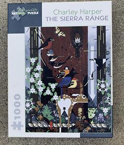 Pomegranate Art Piece Jigsaw Puzzle 1000 Pc The Sierra Range By Charlie Harper