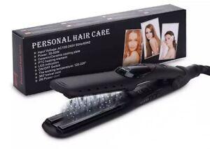 Professional Salon Ceramic Tourmaline Steam Ionic Flat Iron Hair Straightener UK