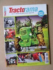 Tractorama n°36, Deutz MTZ 320, Deutz 9005A, Ursus Bambi C12, Douge Messidor, Je