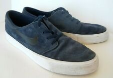 Nike Stefan Janoski Men's 12 Dark Blue Suede Sneaker Lace Low Top Skateboard