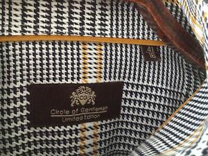 Circle of Gentlemen Limited Edition Herrenhemd Gr 41