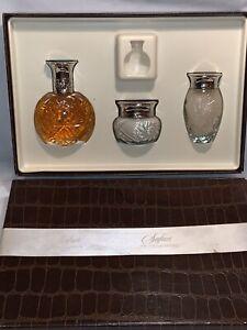 Ralph Lauren Safari Vintage Woman's Gift Set 2.5oz Perfume, Body Cream Body Gel