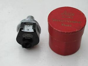 """Leica VIOOH Imarect finder with 8.5cm nice and clean in RED BOX """"LQQK"""""""