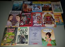 Mixed Lot of 14 Children's Chapter Books Hard and Soft Cover 2-4th grade girls !