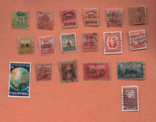 18 STAMPS FROM PHILIPPINES  USED