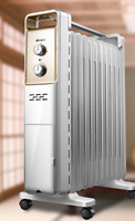 2500W ELECTRIC Oil Heater 13 FIN Thermostat Control
