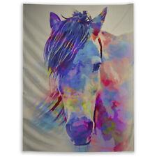 Horse Animal Tapestry Wall Hanging Mandala Bedspread Indian Home Decor