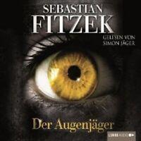 """SEBASTIAN FITZEK """"DER AUGENJÄGER"""" 4 CD HÖRBUCH NEW"""