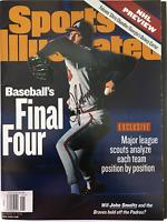 John Smoltz Signed Sports Illustrated Magazine - October 12 1998