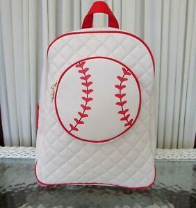 "Luv Betsey Johnson Baseball Backpack Bag Purse Kitsch 13"" NWT"