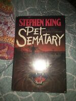 Pet Sematary, 1983, by Stephen King, 1st edition Hardcover