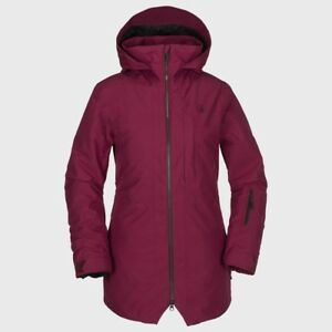 NWT WOMENS VOLCOM IRIS 3-IN-1 GORE JACKET $430 S Magenta (missing vest)
