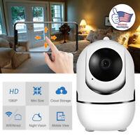 Wireless Outdoor HD 1080P 2MP PTZ IP IR WIFI Camera Night Vision Home Security