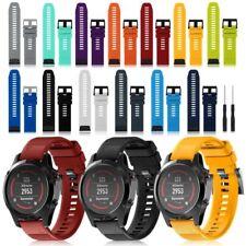Sport Silikon Uhrenarmband Armband Quickfit-Wechselarmband für Garmin Fenix 5 5X