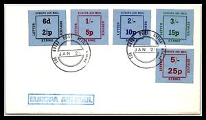 GP GOLDPATH: GREAT BRITAIN COVER AIR MAIL _CV481_P14
