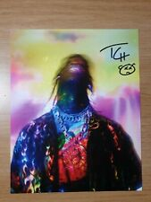 Travis Scott Signed Autographed Astroworld Lithograph