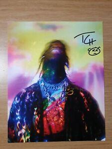 Travis Scott Signed Autographed Astroworld Lithograph