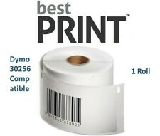 "Best Print Labels 1 Roll 2 5/16"" x 4"" DYMO 30256"