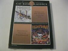 Populous II/Powermonger new sealed CD-ROM Classics PC, 1994