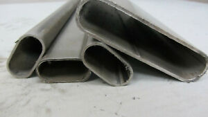 Flachovalrohr - Ovalrohr EN10305-3 blank - geschweißt 500 mm bis 1000 mm Längen