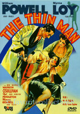 The Thin Man DVD Region 1 William Powell RARE Myrna Loy 1934 Black & White