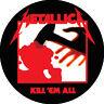 IMAN/MAGNET METALLICA Kill 'Em All . megadeth sepultura obituary king diamond