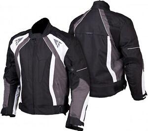 Motorradjacke mit Protektoren Herren Textil Motorrad Jacke Roller - Ausverkauf !