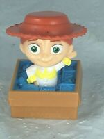2009 Disney Toy Story Jessie in a  toy box Figure 2.25 inches Free Shipping EUC