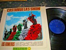 FLAMENCO MUSIC-CASTANUELAS SHOW LP LOS ROMEROS SPANISH BELTER 44.446