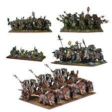 Orchi Esercito-Kings of War-Mantic Games-inviato prima classe