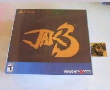 Jak 3 Collector's Edition (Sony PS4). Brand New + Card #370. Limited Run Games.